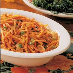 Carrots in Almond Sauce