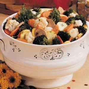 Overnight Marinated Vegetable Salad