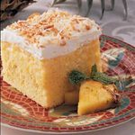 Easy Pineapple Coconut Cake