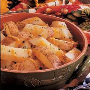 Cheddar Potato Strips