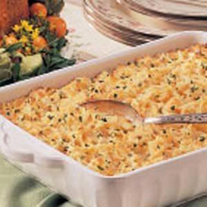 Cheesy Hash Potato Casserole