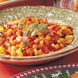 Red Pepper 'n' Corn Skillet