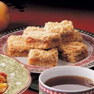 Oatmeal Apricot Squares