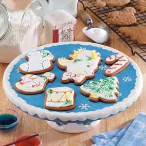 Holiday Ginger Cutouts