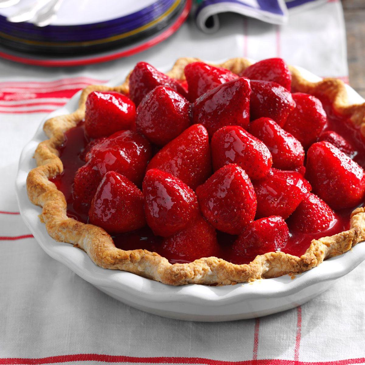 Best Ever Fresh Strawberry Pie Recipe