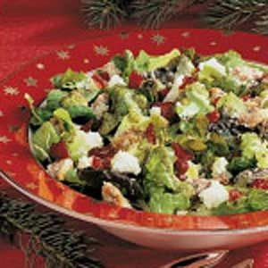 Festive Tossed Salad with Walnuts