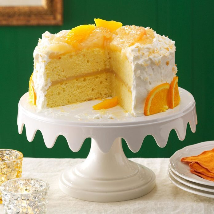 January Birthday: Coconut Citrus Layer Cake