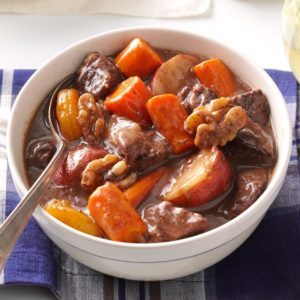 Autumn Slow-Cooked Beef Stew