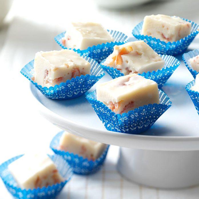 Maple-Bacon White Chocolate Fudge