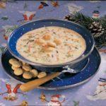 Broccoli Wild Rice Soup