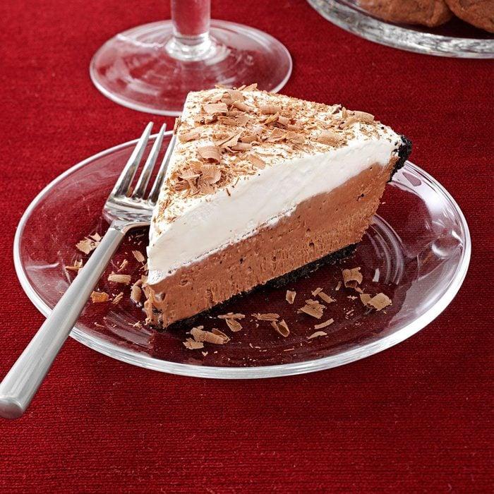 Chocolate Lover's Cream Pie