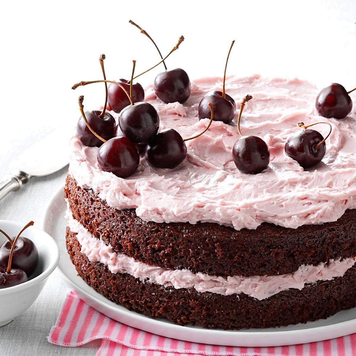 Cherry Cola Cake Recipe Taste Of Home