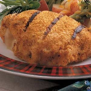 Grilled Chicken Cordon Bleu