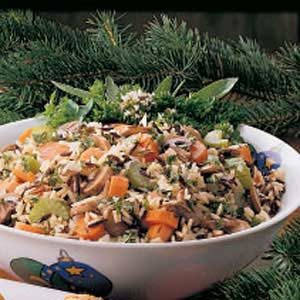 Vegetable Wild Rice Stuffing