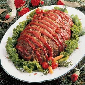 Sunday Meat Loaf