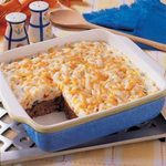 Potato-Topped Chili Meat Loaf