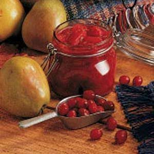Pear Cranberry Relish