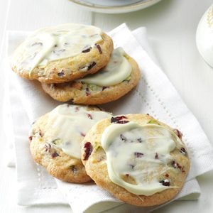 Cherry Pistachio Cookies