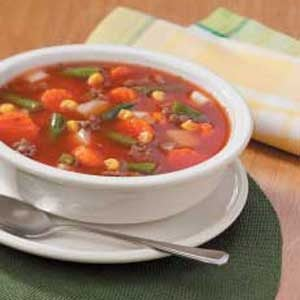 Savory Vegetable Beef Soup