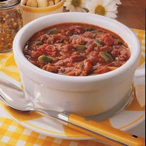 Spicy Chili Recipe How To Make It Taste Of Home