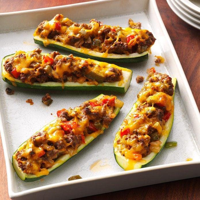 <i>Jaws</i>: Zucchini Boats