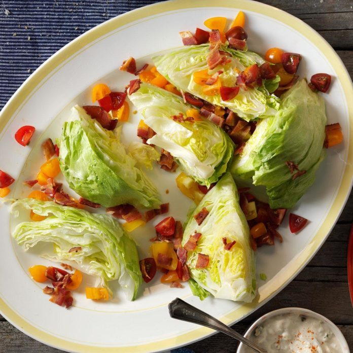 I: Iceberg Lettuce Wedge Salad
