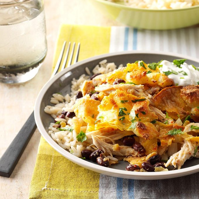Chipotle Turkey Chilaquiles