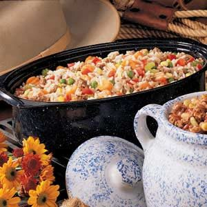 Cajun Rice Dish