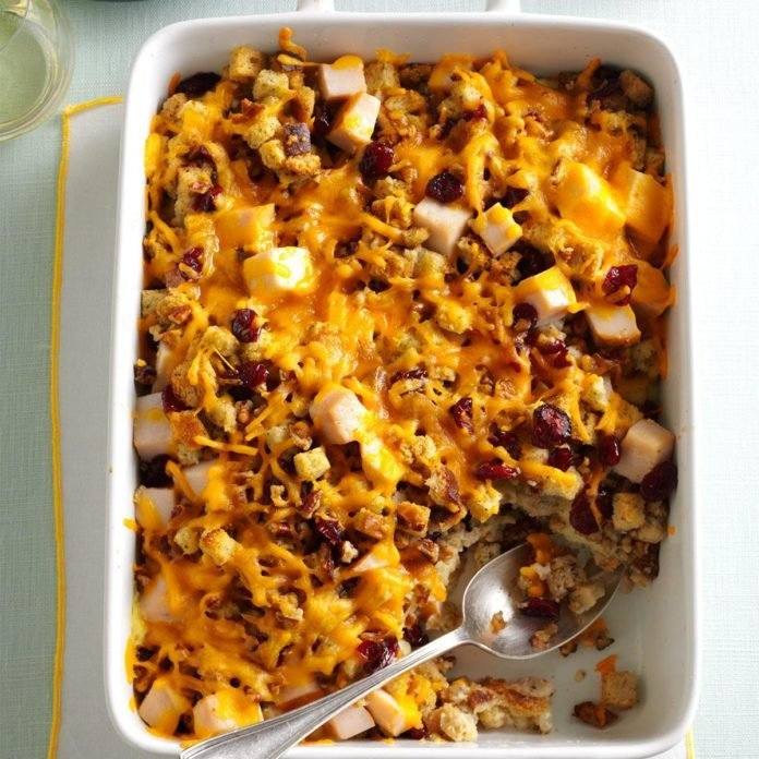 Stuffing & Turkey Casserole