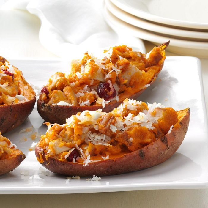 Day 30: Triple-Stuffed Sweet Potatoes