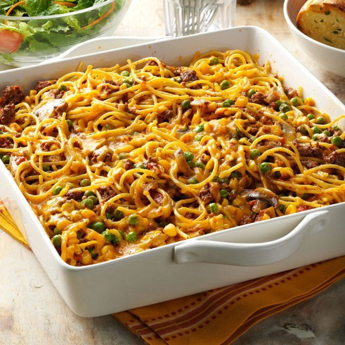 Supper Spaghetti Potluck Dinner Idea for Church