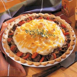 Meat and Potato Pie