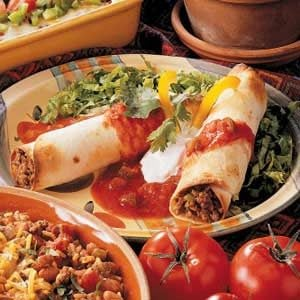 Green Chili Flautas