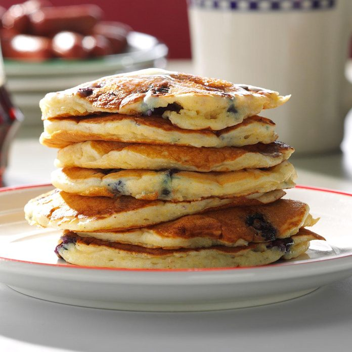 Inspired by: IHOP Blueberry Pancakes