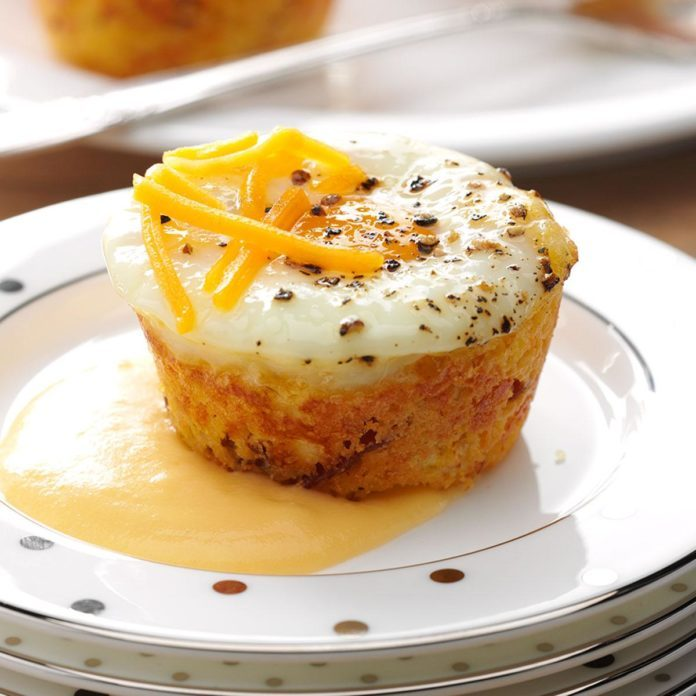 Shirred Egg Corn Muffins
