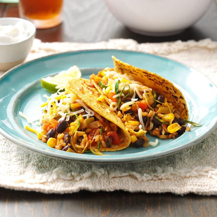 Black Bean and Corn Tacos