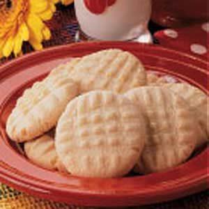 Crispy Butter Cookies