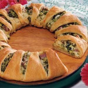 Broccoli Ham Ring