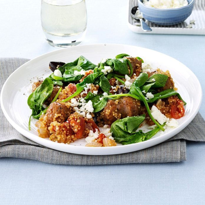 Mediterranean One-Dish Meal