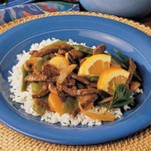 Mandarin Beef Stir-Fry