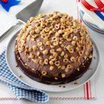 Hazelnut Brownie Bombe