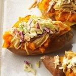 Southern Loaded Sweet Potatoes