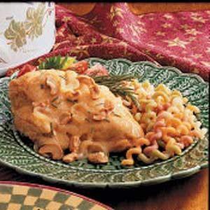 Rosemary Cashew Chicken