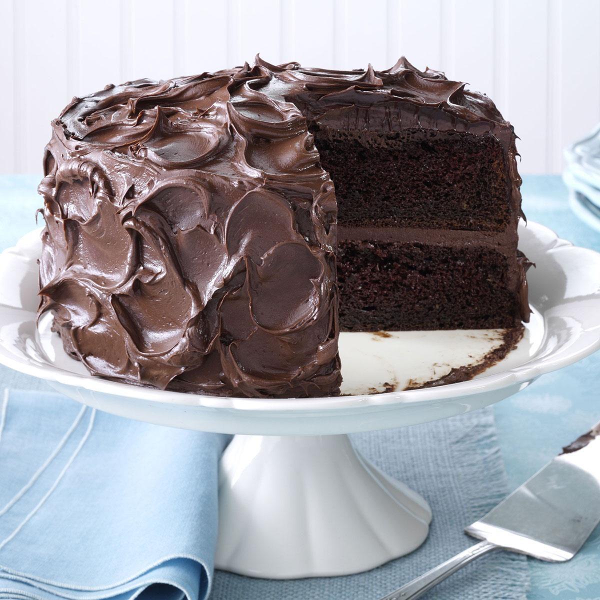 Come-Home-to-Mama Chocolate Cake Recipe | Taste of Home
