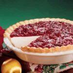 Cranberry Dream Pie