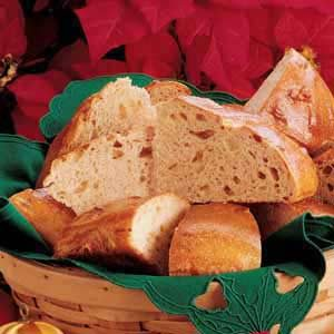 Garlic and Swiss Cheese Bread