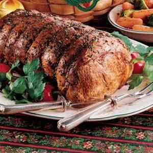 Herbed Rib Roast