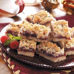 Coconut Raspberry Bars