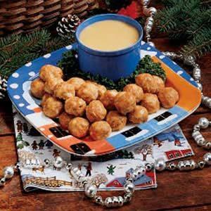 Honey-Mustard Turkey Meatballs
