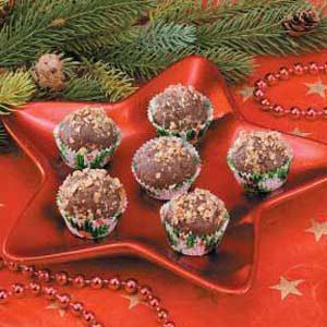 Milk  Chocolate Raspberry Truffles